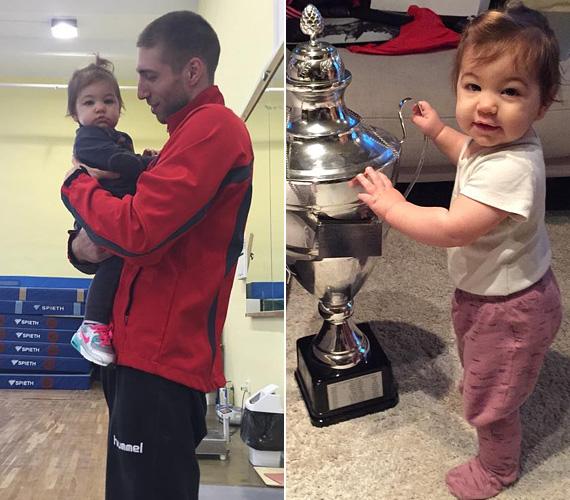 Berki Krisztián olimpiai bajnok tornásznak egyetlen kislánya van: a kis Lia 2014. január 22-én jött világra, így már egyéves a tündéri csöppség. Láthatóan apukájával nagy szerelemben vannak, a büszke édesapa gyakran oszt meg a kicsiről fotókat a Facebook-oldalán.