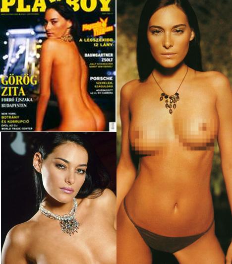 Görög ZitaA modell és színésznő 2004 szeptemberében mutatta meg irigylésre méltó idomait.