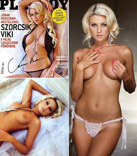 Szorcsik VikiA Jóban Rosszban egykori főnővéreként ismertté vált szőke színésznő többszöri felkérés után 2008 októberében döntött úgy, hogy igent mond a felkérésnek, és a nyilvánosság elé tárja bájait.