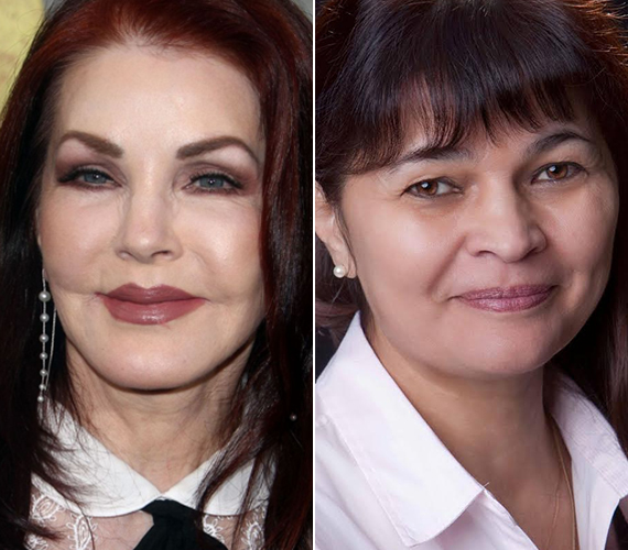 Priscilla Presley májusban lett 70 éves. Elvis Presley egykori felesége játszotta a Dallasban Jenna Wade Krebbset, Bobby Ewing első nagy szerelmét. Két gyermeke van, egy lánya Elvistől és egy fia későbbi kapcsolatából. A szappanopera után szerepet kapott a Csupasz pisztoly-filmekben és a Merlose Place-ben. A színésznő 1999-ben vonult vissza.Magyar hangját az 53 éves színésznő, Fazekas Zsuzsa adta, aki A vad angyalban Rosario, a Született feleségekben pedig dr. Graham szinkronhangja is volt.