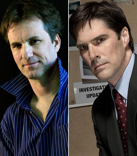 Lux Ádám  Thomas Gibson már a nyolcvanas években is játszott televíziós produkciókban, ám igazán ismert a Gyilkos elmék című, 2005-ben indult sorozattal lett. A hazai tévénézők számára is jól ismert sorozatban Lux Ádám hangján szólal meg.