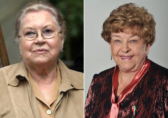 A Hildegard nővért alakítő Eva Maria Bauer 2006-ban, 82 éves korában hunyt el. Bár a színésznő számos német tévéfilmben szerepelt hosszú pályafutása alatt, az igazi népszerűséget számára is A klinika sorozat hozta meg.Pásztor Erzsi színházi szerepeinek felsorolásához egy egész nap is kevés lenne. A 78 éves színésznő Kossuth- és Jászai Mari-díjat is kapott. Szinkronszerepeivel olyan ikonikus karaktereket formált meg, mint a Csengetett, Mylord? Mrs. Liptonja vagy a Downton Abbey Violet Crawley-ja.