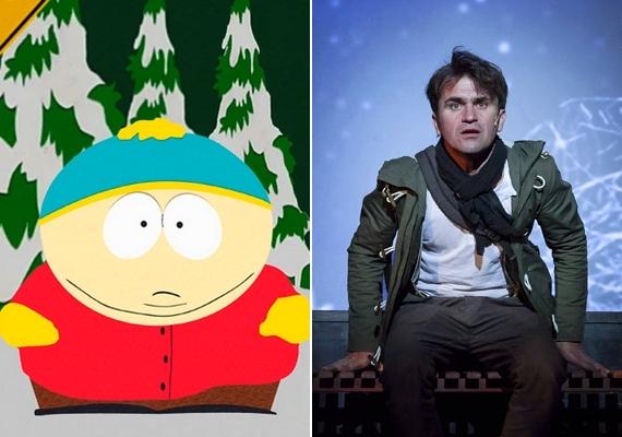Sokan úgy gondolják, a South Park című provokatív rajzfilmsorozat Eric Cartmanjéhez jobban illik a magyar hangja, mint az eredeti. A kövér, szemtelen kisfiút Csőre Gábor szólaltatja meg, aki a szinkron területén jelenleg az egyik legkeresettebb magyar színész. Színpadi szerepei mellett ő Adam Sandler állandó magyar hangja, de sokszor magyarította többet közt Elijah Woodot és Jake Gyllenhaalt is.