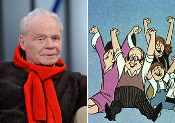 Az először 1969-ben műsorra kerülő Mézga család egyértelműen az egyik legismertebb magyar animációs alkotás. A hasát imádó, kissé kétbalkezes apukának, Mézga Gézának Harkányi Endre kölcsönözte a hangját. Hozzátehetnénk, hogy itthon Harkányi hangján szólalt meg Géza, ugyanis a sorozatot több országban, például Németországban és Franciaországban is sikerrel vetítették.