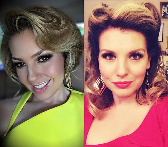 Az 1999-ben készült mexikói szappanopera, a Rosalinda főszereplője a 44 éves Thalía Fernando Carrillo volt, aki hazájában ismert és szeretett énekesnő. 2007-ben megszületett kislánya, Sabrina. Négy évvel ezelőtt egyszerre érte nagy öröm és határtalan szomorúság Thalíát, előbb megszületett kisfia, Matthew, majd nem sokkal később meghalt az énekesnő édesanyja.                         Az énekesnő-színésznő magyar hangja a 42 éves Liptai Claudia. Liptai szinkronizálta Thalíát egy másik sorozatban, a Marimarban is, de például a Született feleségekben Mary Alice Young, a Madagaszkárban Gloria magyar hangját kölcsönözte, és hallhattuk Halle Berry, Sharon Stone, Charlize Theron vagy éppen Brigitte Nielsen szinkronhangjaként is. A képen szinte megszólalásig hasonlít Thaliára, a fotót a Játékszín öltözőjében készítette Noël Coward Vidám kísértet című előadása előtt.