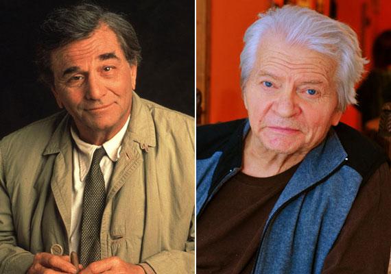 A 2011. június 23-án, 83 évesen elhunyt Peter Falk leghíresebb alakítása a Columbo című sorozat nyomozója volt. Magyar hangja, Szabó Gyula szintén 83 évesen, hosszú betegség után, 2014. április 4-én hunyt el. Az ő orgánumán szólalt meg a Dallasban Clayton Farlow, Ellie asszony második férje is - az őt megformáló Howard Keel szintén nincs már az élők sorában, 2004. november 7-én, 85 évesen legyőzte a rák.