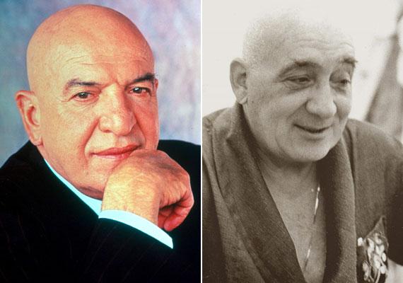 A görög származású Telly Savalas, aki leghíresebb szerepét az 1970-es években vetített Kojak sorozatban játszotta a címszereplő felügyelőként, 1994. január 22-én rákban hunyt el. Magyar hangja, Inke László már két ével korábban, 67 évesen, 1992. augusztus 19-én meghalt.