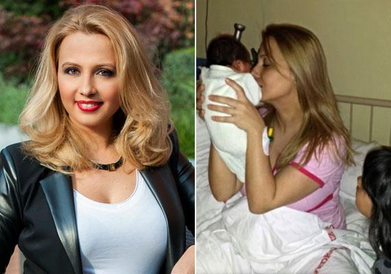Gombos Edina várva várt kisfia, Matteo március 27-én született. A kisfiú a TV2 műsorvezetője szerint hat és fél éves nővérére, Mirandára hasonlít.