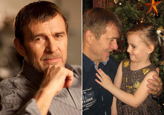 A 67 éves Nagy Bandó András csak tavaly ősszel árulta el, hogy 44 év után elköltözött feleségétől, új párjától kislánya is született. A kis Gwendolin négyéves.