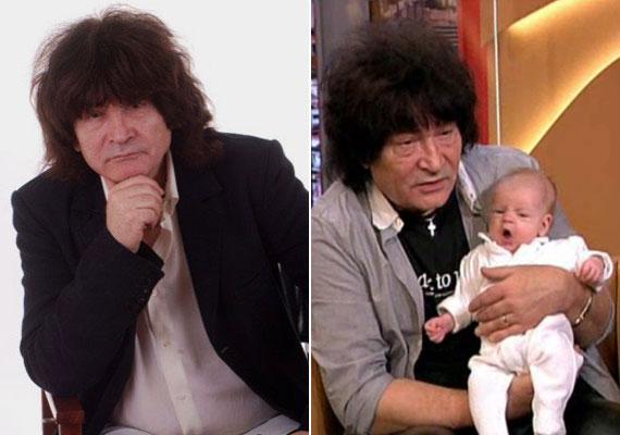 Závodi János, a Piramis Plusz zenekar 67 éves gitárosa 66 évesen, 2014 januárjában nézett apai örömök elé: a kis Janó előtt már egy régebbi alkalmi kapcsolatából született egy fia, Tamás, de az ő életében nem tudott úgy részt venni, mint egy igazi édesapa.