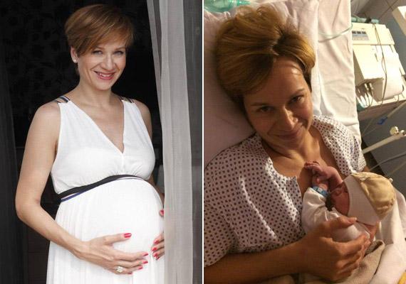 Bakos Piroskának, a Hír24 TV híradósának első gyermeke, Marcell 2014. július 31-én született.