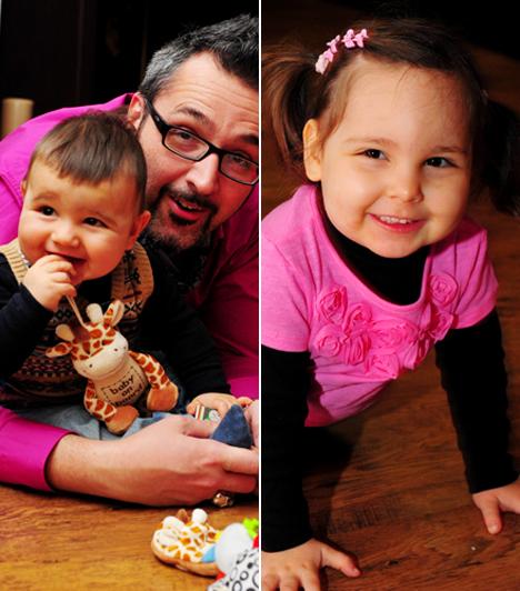 Panna és Soma                         Rákóczi Ferenc már két gyönyörű gyermek édesapja, kislánya, Panna 2008 végén látta meg a napvilágot, kisfia, Soma Benedek pedig 2010. április 19-én.