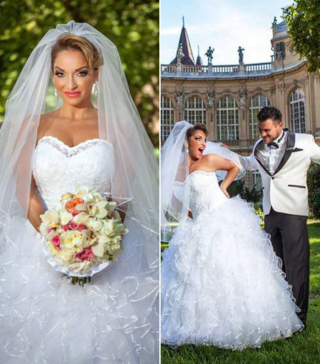 Völgyi Zsuzsi  Az énekesnő 2015. augusztus elsején ment férjhez. Földig érő, hófehér menyasszonyi ruhában állt az oltár elé, mely a Héjja Szalon keze munkáját dicséri. A pár a pesterzsébeti Magyarok Nagyasszonya-templomban mondta ki a boldogító igent.  Kapcsolódó cikk: Meseszép menyasszony volt a magyar énekesnő »