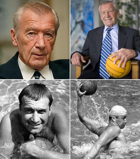 Gyarmati Dezső (1927-2013)Az augusztus 18-án elhunyt sportoló volt a világ egyetlen vízilabdázója, aki öt olimpián szerzett érmet. Háromszor aranyat (1952-ben Helsinkiben, 1956-ban Melbourne-ben,1964-ben Tokióban), egyszer ezüstöt (1948-ban Londonban) és egyszer bronzot (1960-ban Rómában).Kapcsolódó cikkElhunyt a háromszoros olimpiai bajnok vízilabdázó »