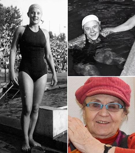 Temes Judit (1930-2013)  Augusztus 11-én örökre lehunyta szemét az 1952-es helsinki olimpia 4x100 méteres magyar gyorsúszó váltójának aranyérmet szerzett tagja, aki emellett ugyanitt a 100 méter gyors döntőjében harmadik lett.  Kapcsolódó cikk: Elhunyt az olimpiai bajnok magyar úszónő »