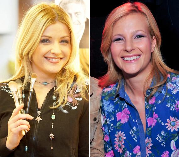 Létay Dóra színésznő és Várkonyi Andrea híradós olyanok, mint két tojás. Előfordult, hogy még a frizurájuk is ugyanolyan volt.