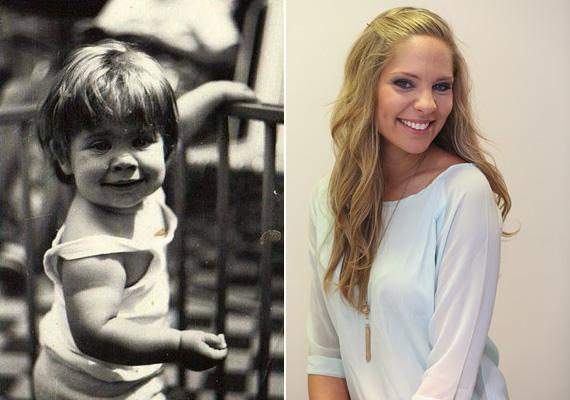 Ada tündéri kislány volt, azt a mosolyt nehéz überelni! Az RTL Klub csinos műsorvezetője, aki nem mellékesen egy nyolcéves ikerpár édesanyja, még mindig ugyanolyan bájos, mint kicsiként, és szerencsére a mosoly is megmaradt.