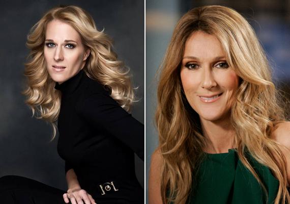 Nem elég, hogy mindkettejüknek csodás hangja van, még hasonlítanak is: a képen Wolf Kati és Céline Dion.