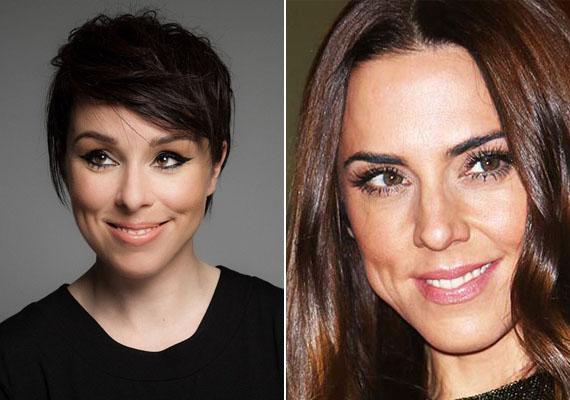 Kozma Orsi énekesnőnek is van egy távoli arc-ikertestvére: ő Mel C, a Spice Girls egykori énekesnője.