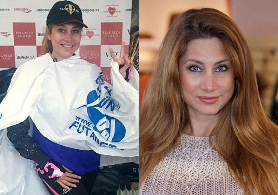 Horváth Éva gyakran mutatkozik festetlen arccal, ami előnyére válik, mert így sokkal fiatalabbnak néz ki. Október közepén egy futóversenyen mutatta meg természetes arcát.