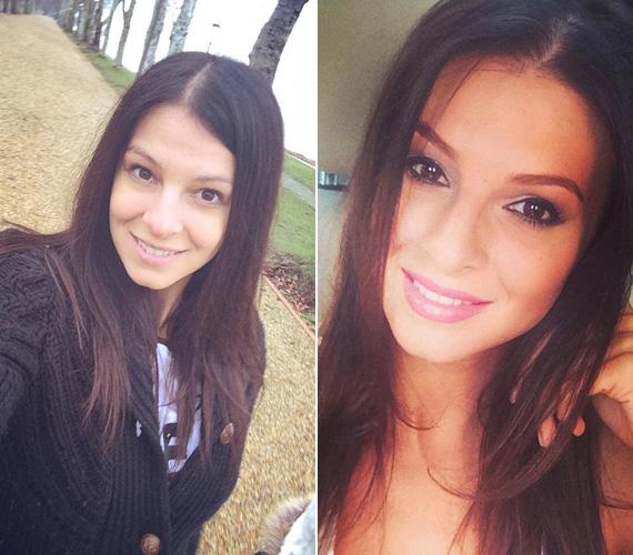 Sarka Kata diáklánynak néz ki a Facebookra posztolt sminktelen képen, pedig Hajdú Péter felesége már 28 éves. Igaz, ami igaz, sminkben sem néz ki többnek 22-nél, biztosan a gének.