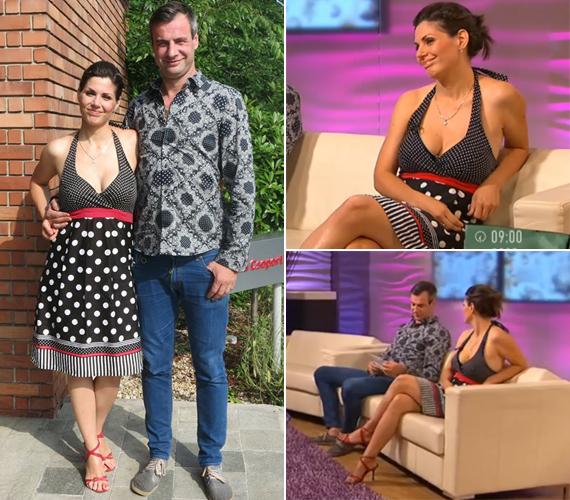 Verebes Linda és Pindroch Csaba második gyermeke az év elején jött világra. A 34 éves színésznő alakján a Mokka augusztus 1-jei adásában már nem látszott, hogy hat hónappal ezelőtt szült.