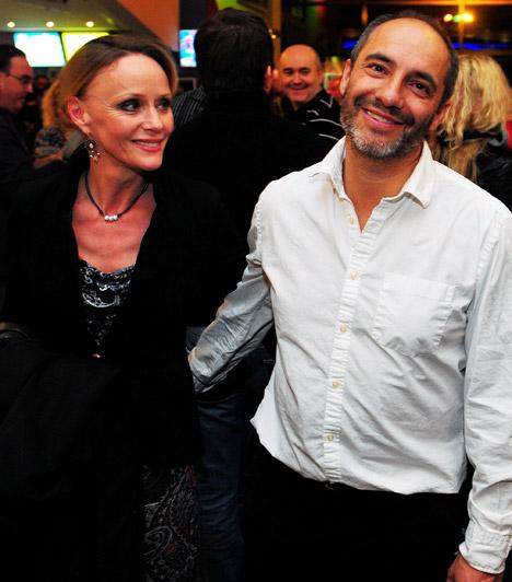 Nagy-Kálózy Eszter és Rudolf Péter  A népszerű színészházaspár 1990-ben házasodott össze, és az évek során két közös gyerekük született. Számos filmben, sorozatban és színdarabban láthattuk őket együtt.