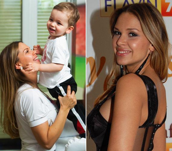 A kisfiú azért természetesen édesanyja, a Majoros nevet felvett Hornyák Hajnalka génjeit is örökölte.