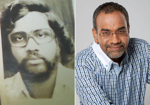 Joshi Bharat a körszakállát meghagyta, de a szemüveg és a frizura változott a fiatalkori verzióhoz képest.
