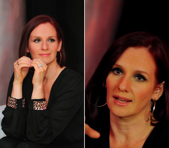 A mindig elegáns színésznő-énekesnő az örök klasszikus feketében is meg tudja mutatni a benne lakozó dívát, elég hozzá néhány arany kiegészítő.