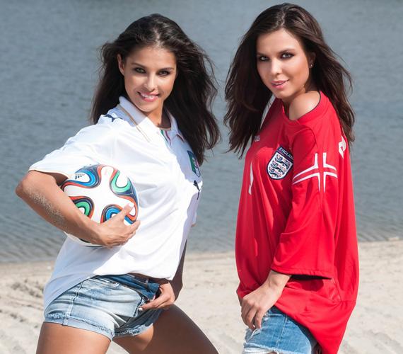 A SportKlub nézői a Vb-láz a Beach című műsorban naponta találkozhatnak Marenec Fruzsival és Molnár Andival, akiket a képernyőn még nem láthattak úgy, mint a vízparti fotózáson.