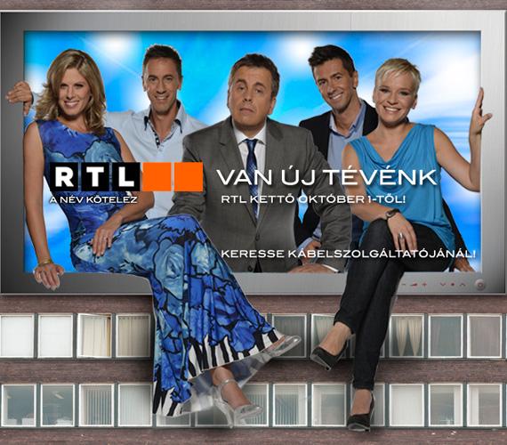 Budapesten a Márvány és Alkotás utca sarkán egy hónapon át látható az az épületháló, amely az RTL II sztárjait mutatja be.