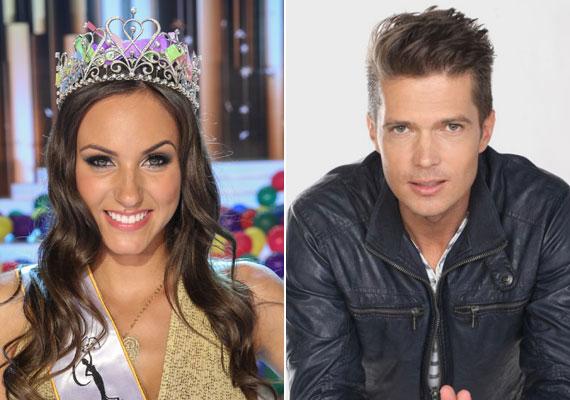 Új magyar álompár született. Nagy Nikoletta, a 2015-ös Miss Universe Hungary győztese összejött Gyetván Csabával.