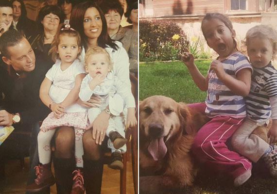 Sosem látott fotók kerültek elő Rubint Rékáról és családjáról. Még több 8-10 évvel ezelőtt felvételt ide kattintva láthatsz »
