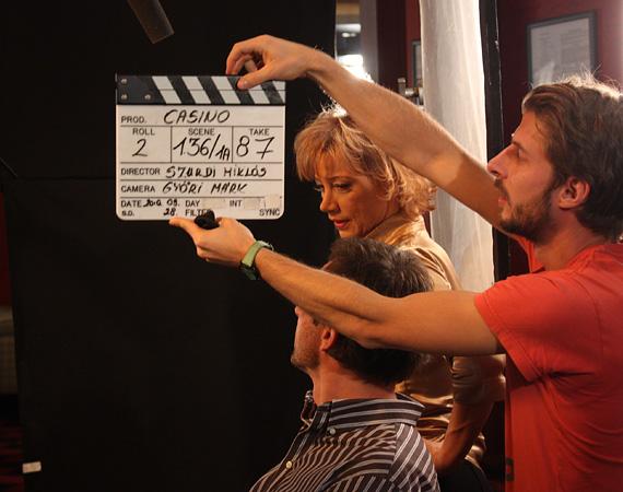 A Casino című sorozat 2011 februárjában került képernyőre az RTL Klubon, szereplői között Xantus Barbarával, Szabó Győzővel és Voith Ágival. Ötlete Szurdi Miklós fejéből pattant ki, akinek nevéhez olyan legendás sorozatok kötődnek, mint a Família Kft. és az Angyalbőrben. A képzeletbeli kaszinóban játszódó történet azonban nem nagyon érdekelte a magyar nézőket, a harmadik részre az első epizódhoz képest felére csökkent a nézettség, így mindössze ez a 3 epizód készült el, a csatorna nem kért a folytatásból.