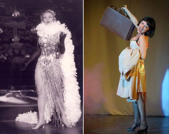 Kata a Gipsy és a Cabaret című darabokban - utóbbiban fekete parókát viselt.