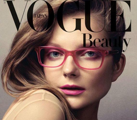 A Vogue nívós divatmagazin címlapján többször is szerepelt.