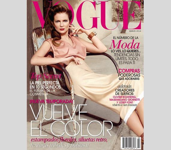 Mihalik Enikőről Koray Birand készítette a fotókat a Vogue mexikói kiadásának márciusi számához.