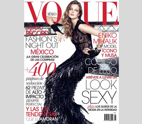 A mexikói Vogue címlapján már szerepelt 2011 szeptemberében is.