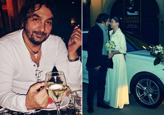 Mihályi Győző 2014 decemberében titokban házasodott össze, csak néhány családtagjuk tudott az esküvőről.