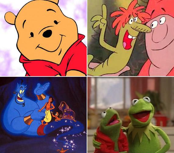 Gyermekkoruk kedvenc rajzfilm figuráinak magyar hangja: ő a Disney-féle Micimackó, A nagy ho-ho-ho-horgász jól ismert kukaca, Dzsini a Disney Aladdinjából vagy Breki a Muppet Show-ból.