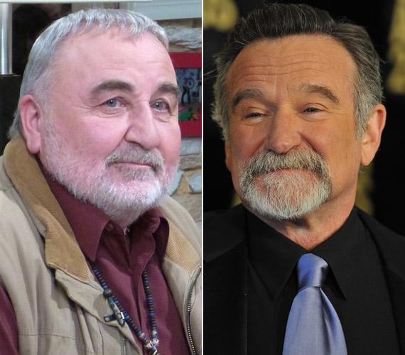 Ő Robin Williams állandó magyar szinkronhangja.