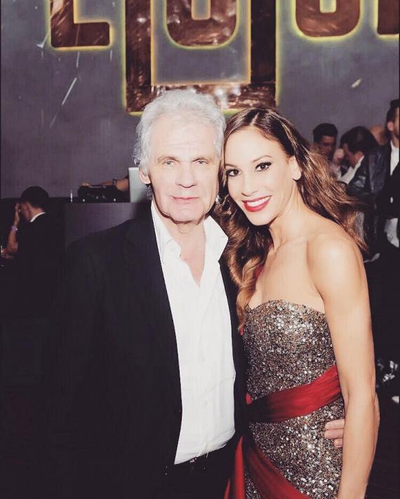 """""""Miss Universe Hungary after party a LOCK Budapestben a főnökkel"""" - írta Vajna Tímea a fotó mellé, amelyen Rákosi Tamással, az IKO műsorgyártó cég tulajdonosával látható."""
