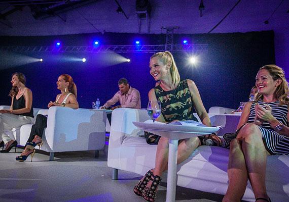 A Miss Balaton 2014 zsűrijét Dobó Kata, Lilu, Hámori Gabriella, Görög Zita, Sabján Johanna, Decker Ádám és Mártha Imre alkotta.