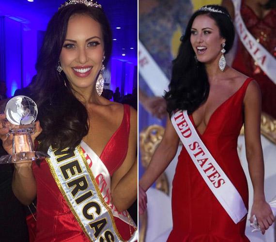 Az Amerika Egyesült Államok legszebbje, Elizabeth Safrit lett a harmadik helyezett.