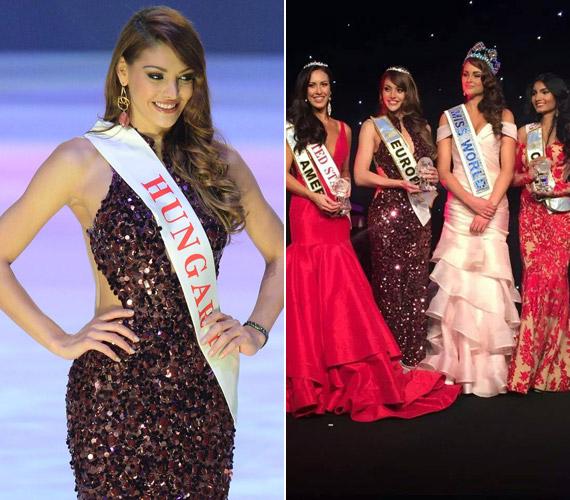 Magyar lány még soha nem ért el ilyen előkelő helyezést a világszépe versenyen, ráadásul dupla sikert aratott: őt választották Európa legszebb lányának is.