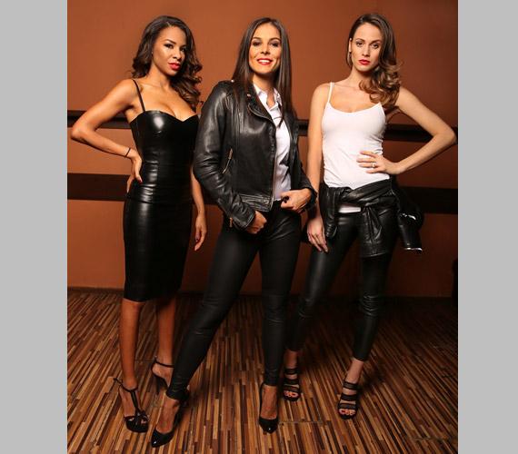 Aryee Claudia - ismertebb nevén Tücsi - műsorvezető, az egykori versenytáncos, Molnár Andi, valamint Tóth Laura modell.
