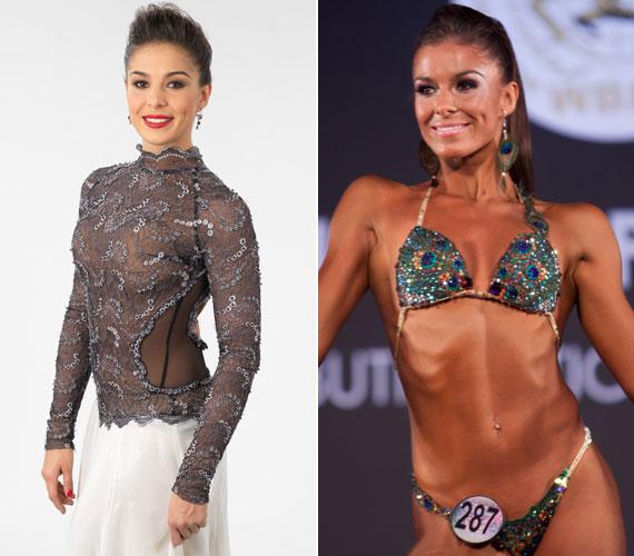 A Szombat Esti Láz profi táncosa a 2012-es World Bodybuilding & Physique Sports Federation világbajnokságon harmadik helyezett lett - alakjáért keményen dolgozott.