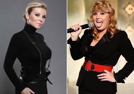 A 42 éves Liptai Claudia - aki az RTL Klubnál kezdte műsorvezetői karrierjét - fokozatosan lett telt, vörös démonból egyre szőkébb és karcsúbb műsorvezető a TV2-nél.