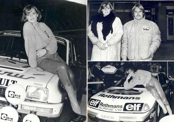 1985 decemberében részt vett az első - 1986-os - hazai Forma-1 verseny népszerűsítésére megrendezett Nemzetközi Versenyautó Kiállításon. Molnár Csilla a kiállításra díszvendégként meghívott Keke Rosberget kísérte, háziasszonyi teendőket látott el, és fotózták.